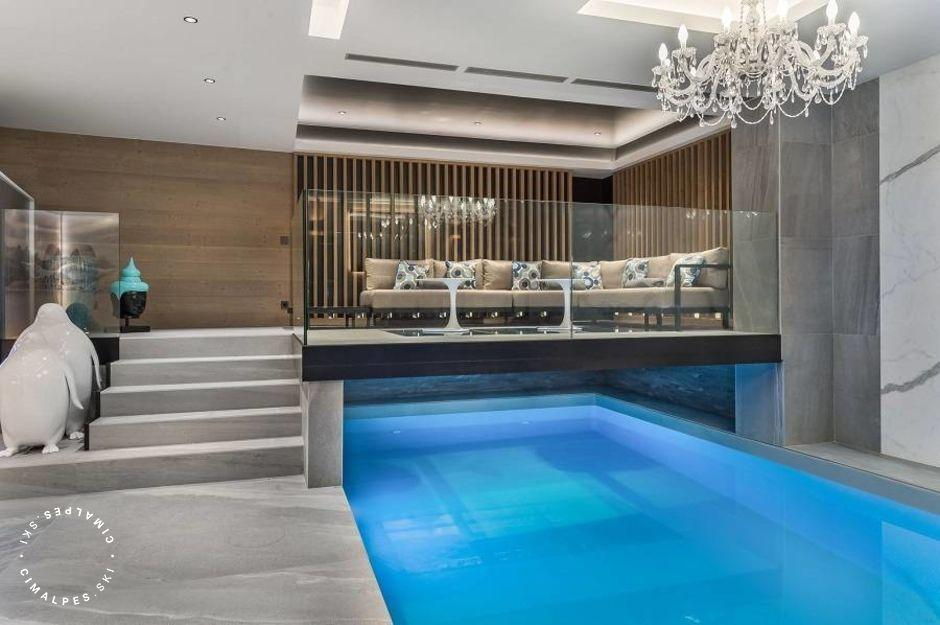 Piscine - Chalet Elixir - Courchevel 1850