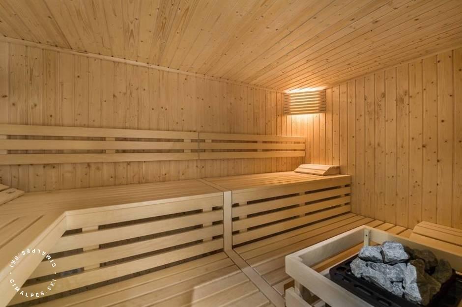 Chalet Libellule | Courchevel Moriond - Sauna