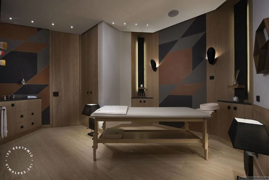 Massage room - Chalet Namaste - Courchevel Moriond