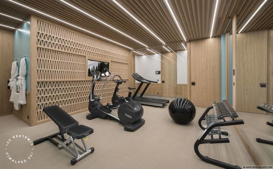 Fitness room - Chalet Namaste - Courchevel Moriond