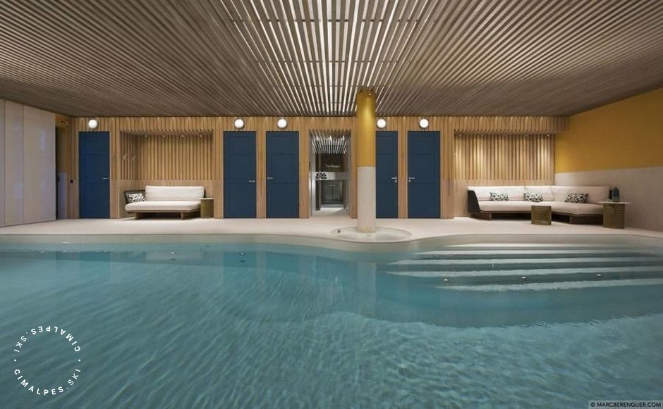 Swimming pool - Chalet Namaste - Courchevel Moriond
