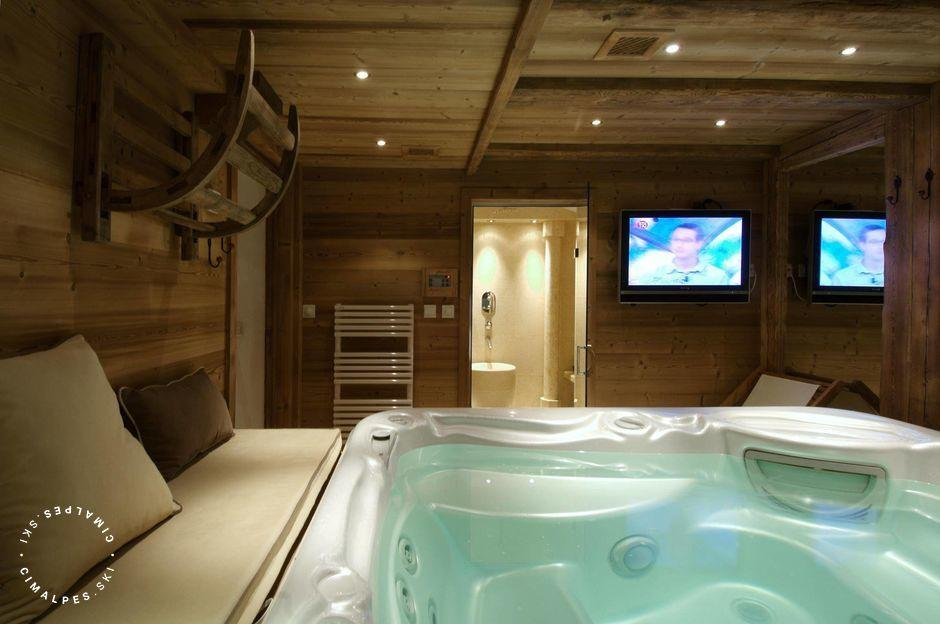 Chalet Aspen Courchevel  jacuzzi