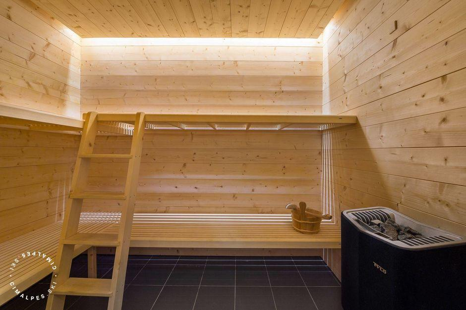 Sauna | Appartement Kiriole | Courchevel Moriond