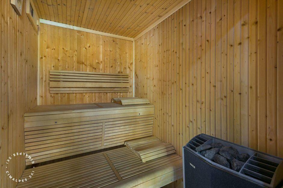 Sauna | Chalet Face Nord | Courchevel Village