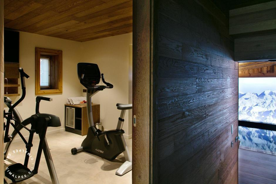 Chalet Le 1550 - Courchevel Village - Fitness area
