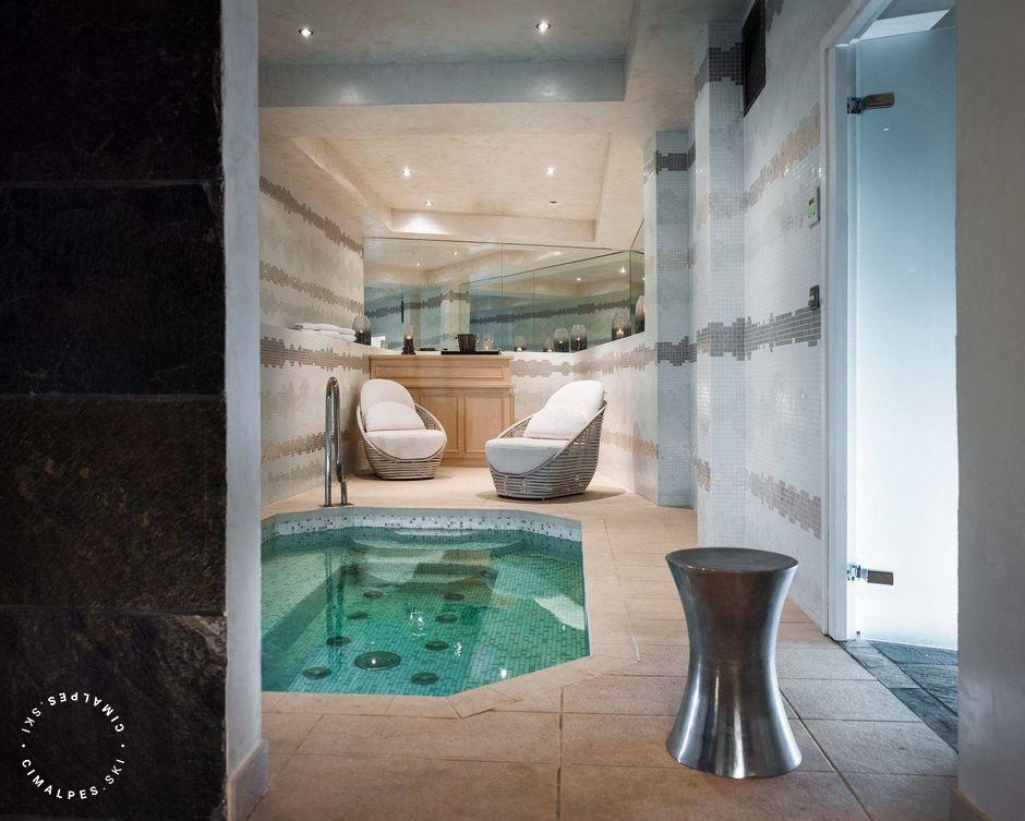 Spa Area - Saint James Chalet - Courchevel 1850