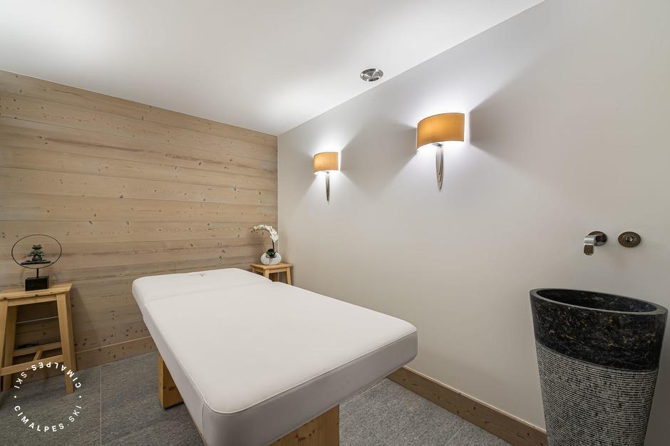 Salle de massage | Chalet Grand tetras | Courchevel Le Praz