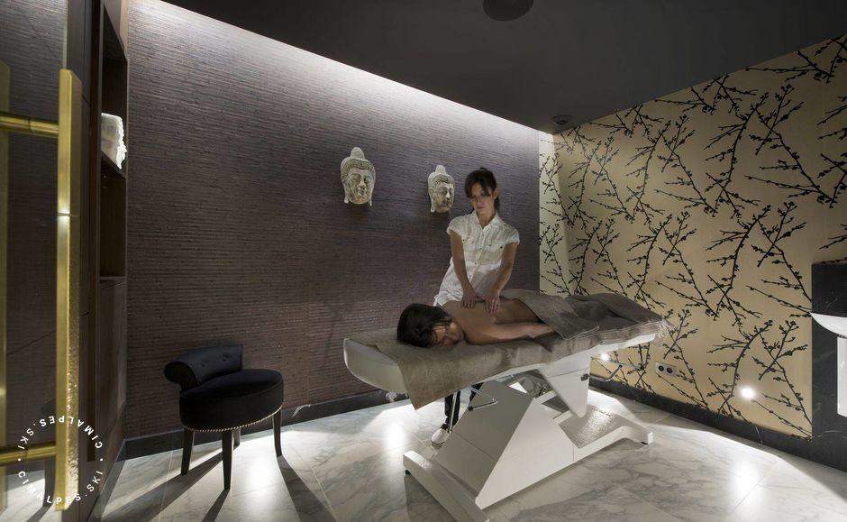 Massage Room - Coquelicot Chalet - Courchevel 1850