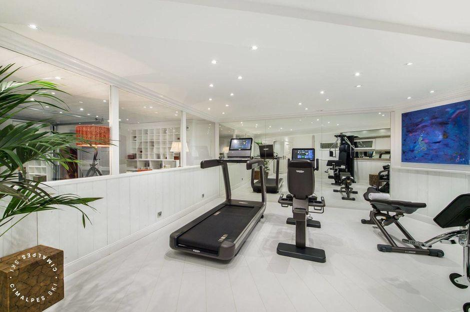 Chalet White Dream Courchevel fitness