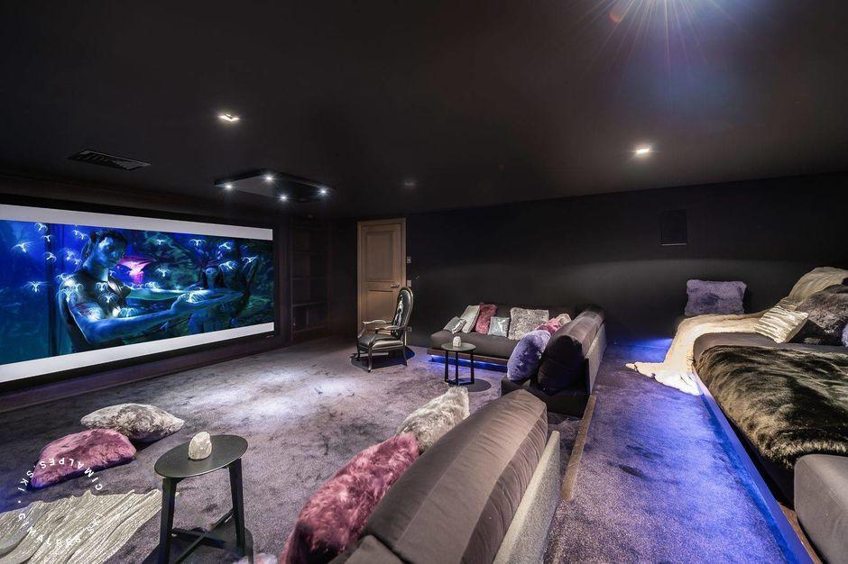 Home Cinema - Chalet Mont Blanc
