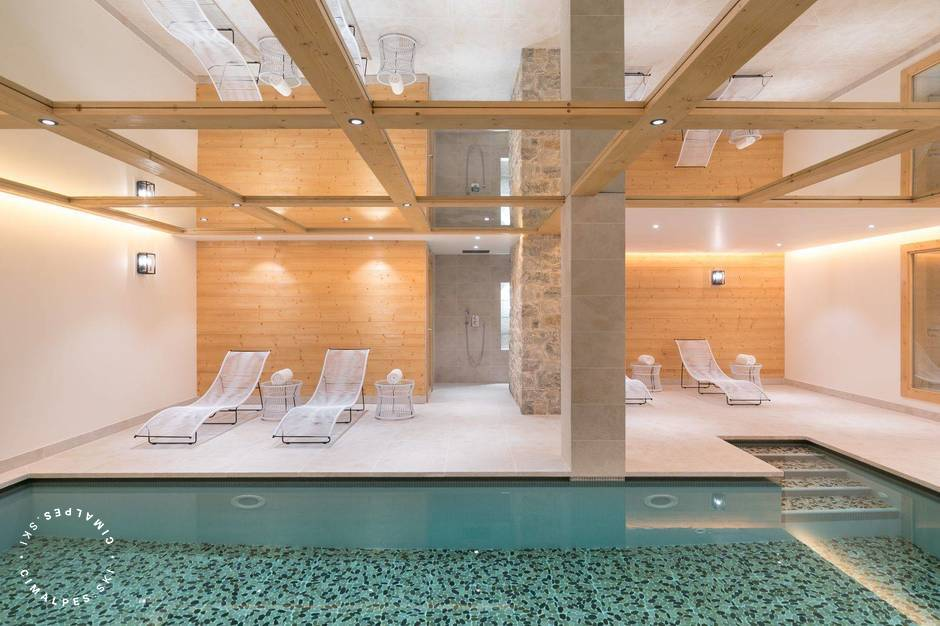 Swimming pool - Gelinotte Chalet - Courchevel 1850