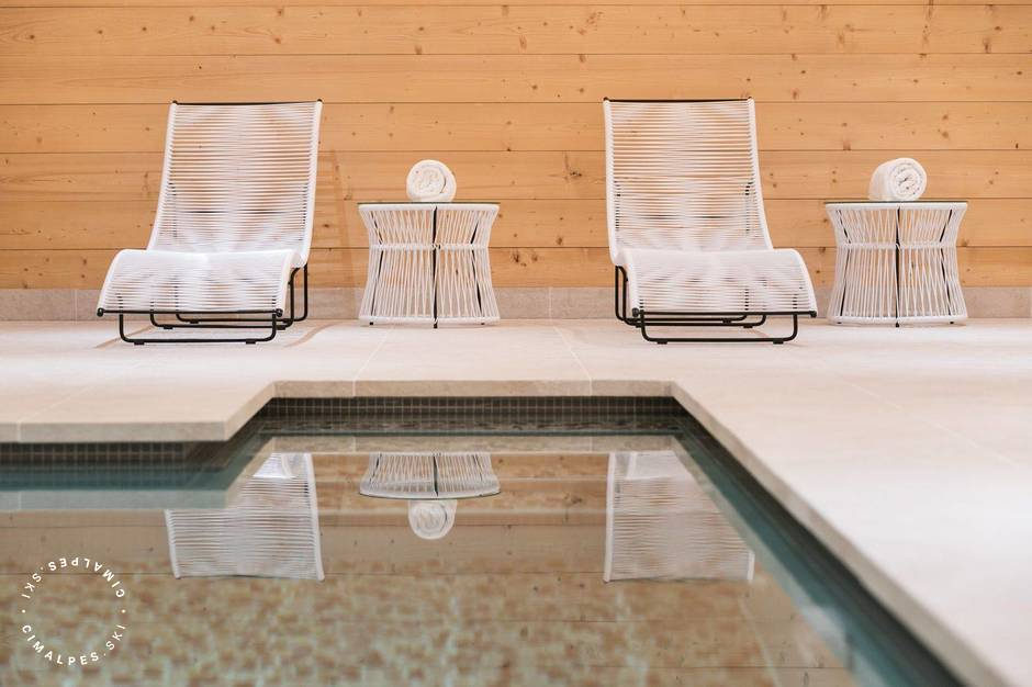 Piscine - Chalet Gelinotte - Courchevel 1850