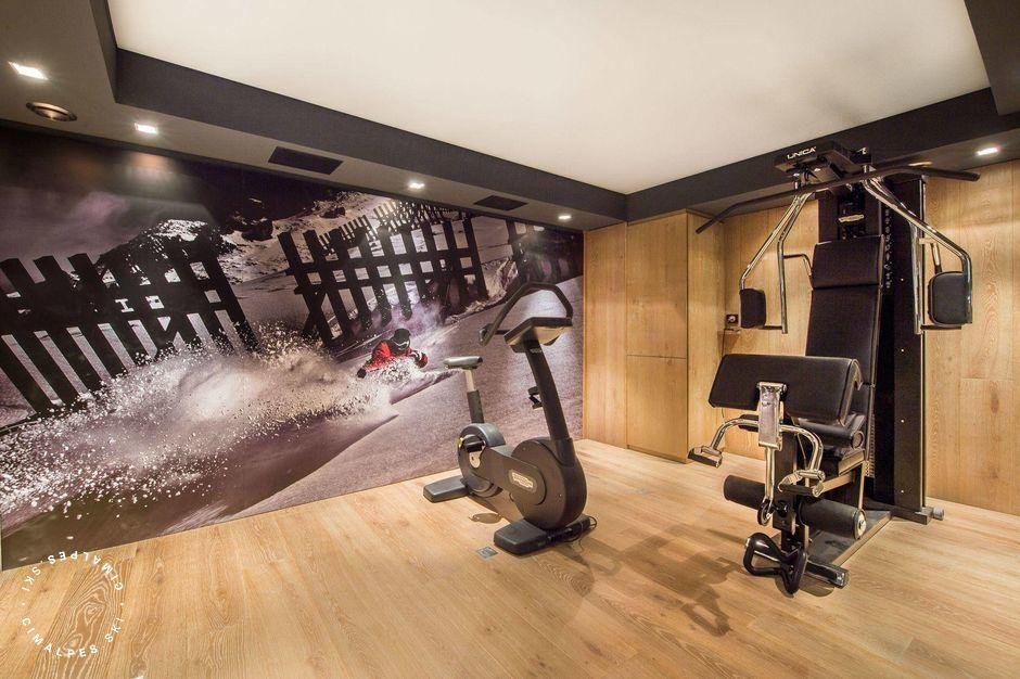 Fitness room - Chalet Oveview - Courchevel Moriond