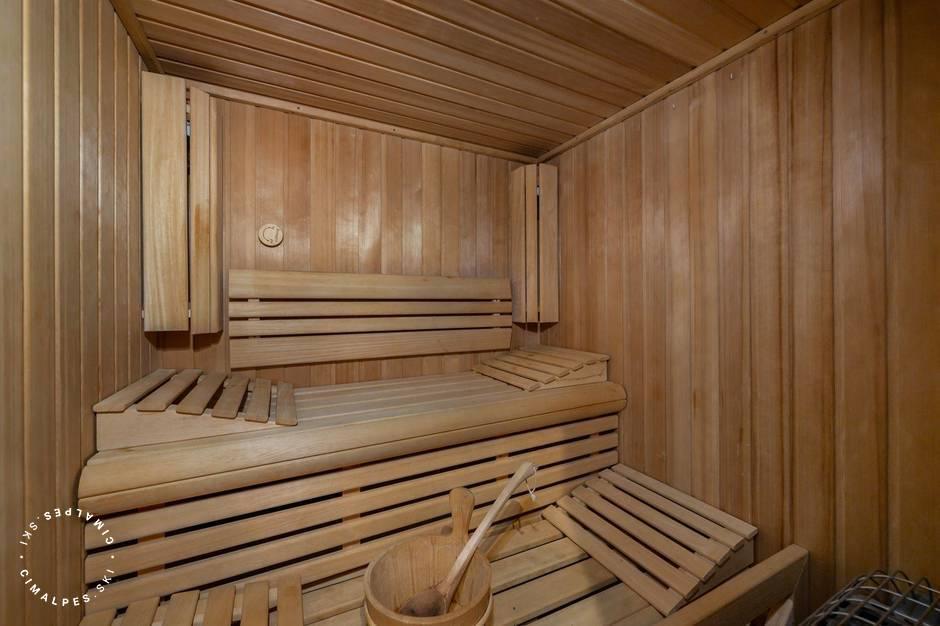 Sauna - Reine des Prés - Megève
