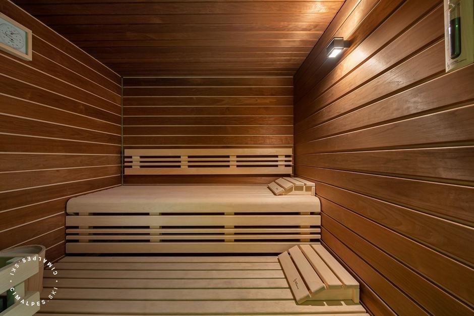 Sauna | Chalet Hermine Blanche | Val d'Isère