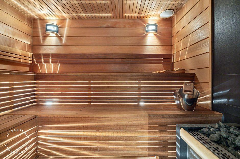 Sauna | Labaobou Chalet | Courchevel Moriond