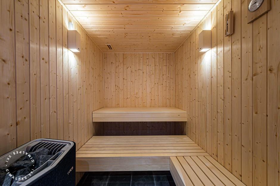 Sauna | L'Étable chalet | Saint Martin de Belleville