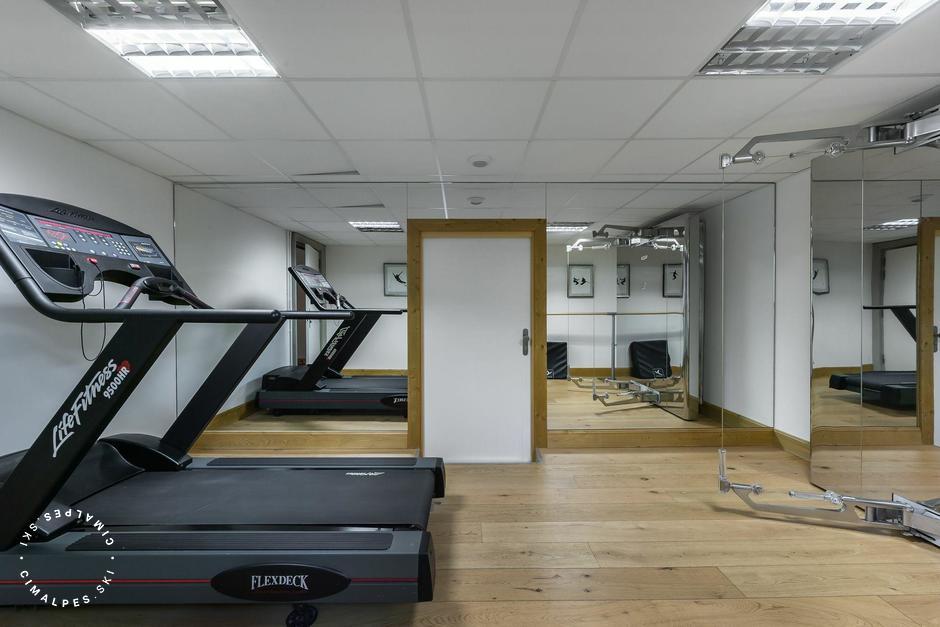 Chalet Totara Courchevel salle fitness