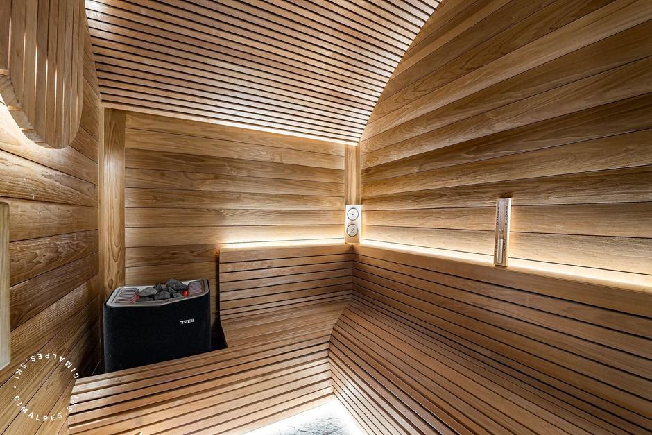 Sauna - Chalet La Grange 1855 - Saint Martin de Belleville