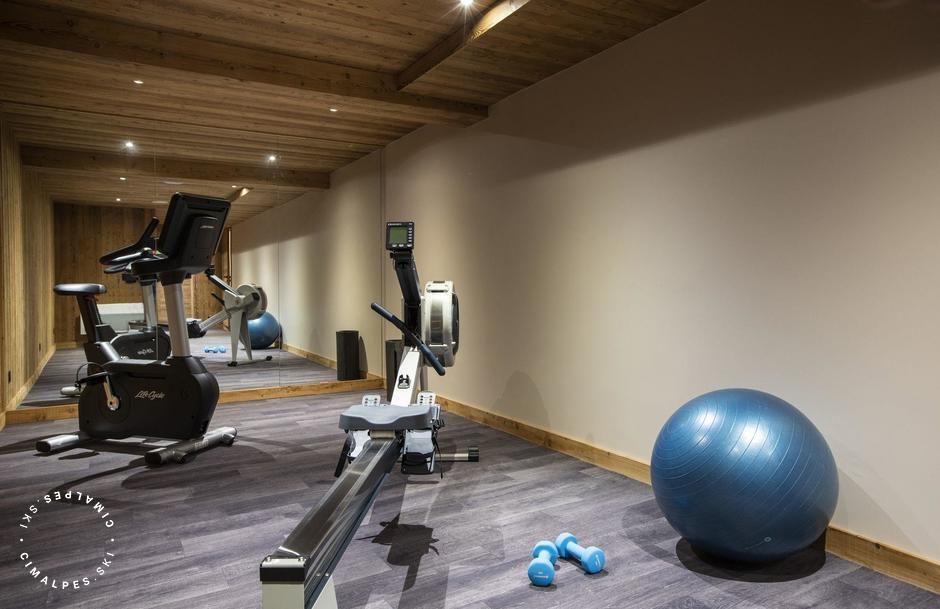 Salle de sport |Chalet Orlov - Les chalets du Koh-I-nor | Val Thorens