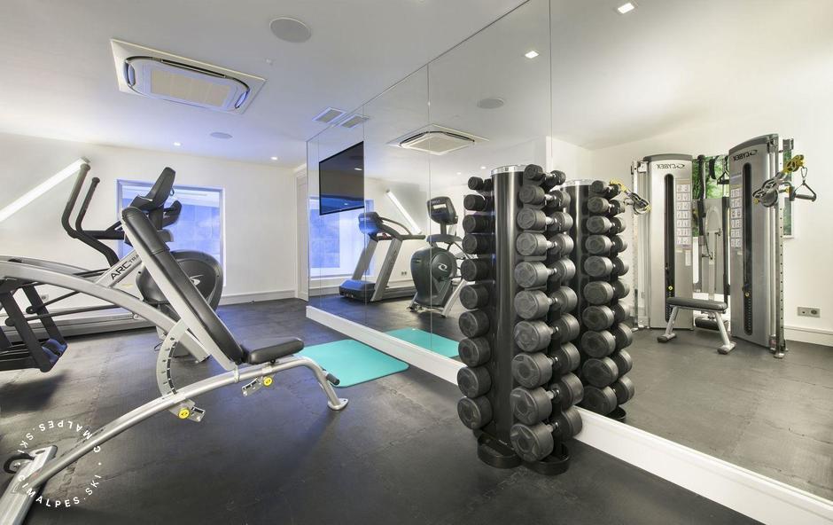 Gym | Chalet Pow Pow | Courchevel