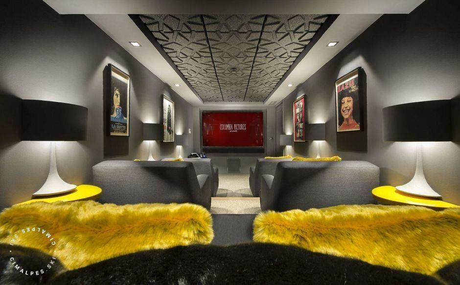 Home cinema | Chalet Pow Pow | Courchevel