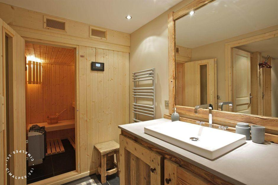 Chalet Ajacour Courchevel sauna