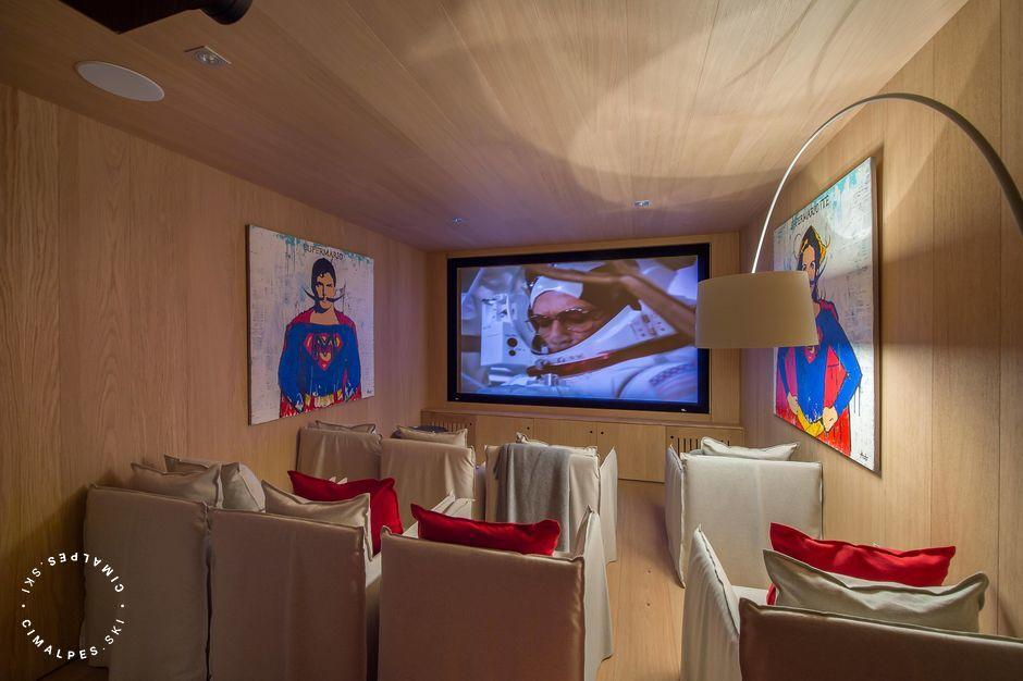Chalet Kibo - Courchevel Village - Cinema room