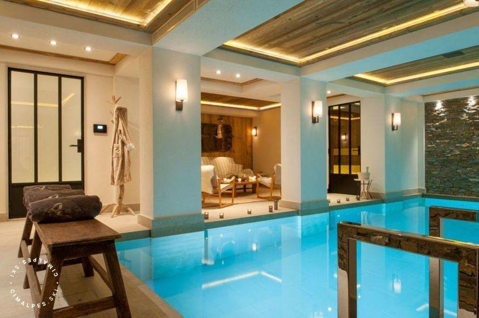 Chalet Nanuq Courchevel swimming pool