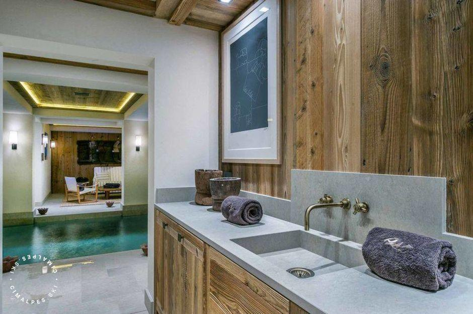 Chalet Nanuq Courchevel piscine