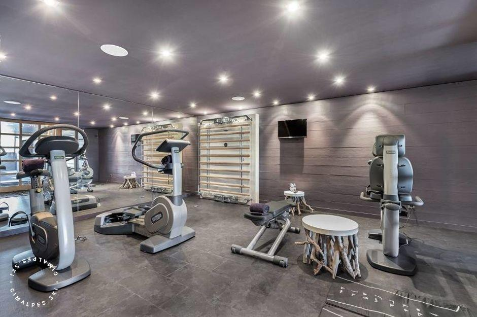 Chalet Licorne Courchevel Moriond - Salle de fitness