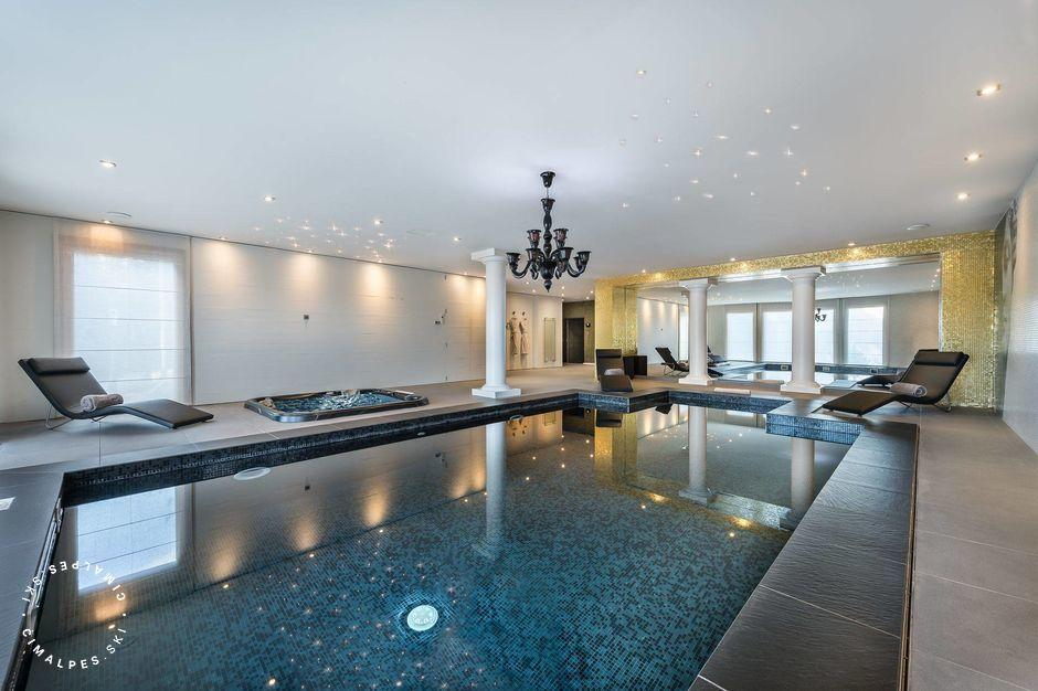 Chalet Licorne des Neiges Courchevel Moriond - piscine