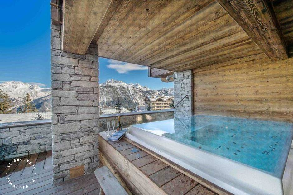 Chalet Cryst'Ailes Courchevel Jacuzzi