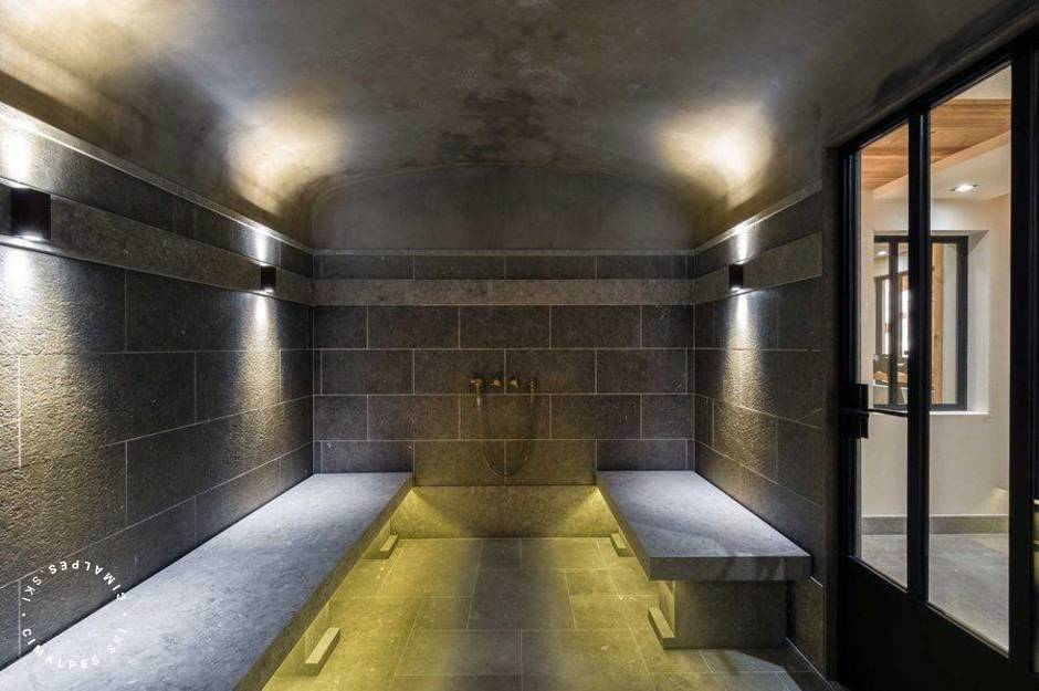 Chalet Cryst'Ailes Courchevel Hammam