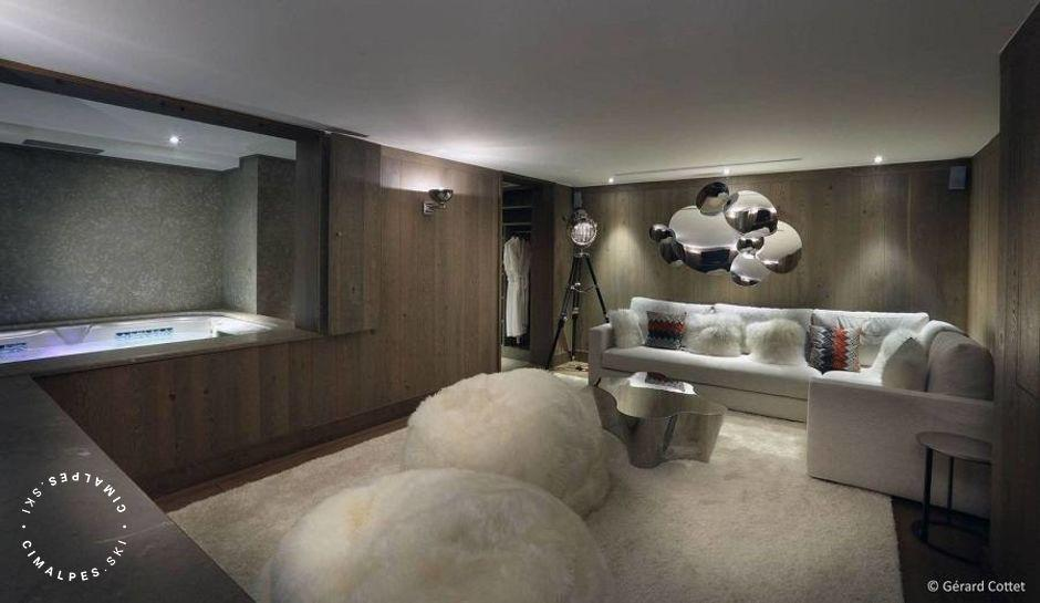 Chalet Beaumont Courchevel 1650 hammam