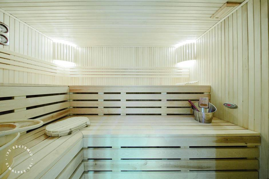 La Vizelle Courchevel 1850 Sauna