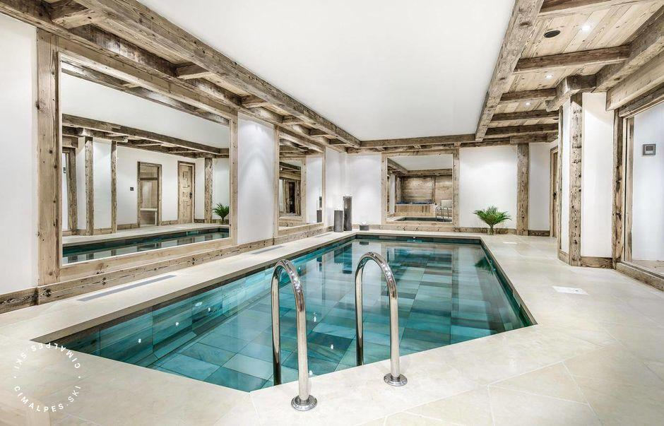 Chalet Monet Courchevel 1850 Piscine