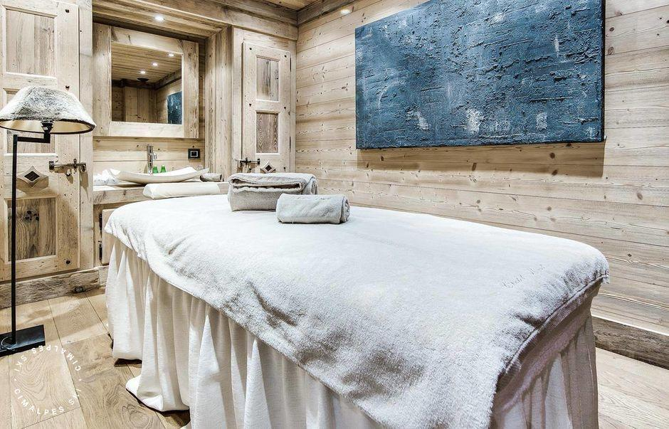 Chalet Monet Courchevel 1850 Salle massage