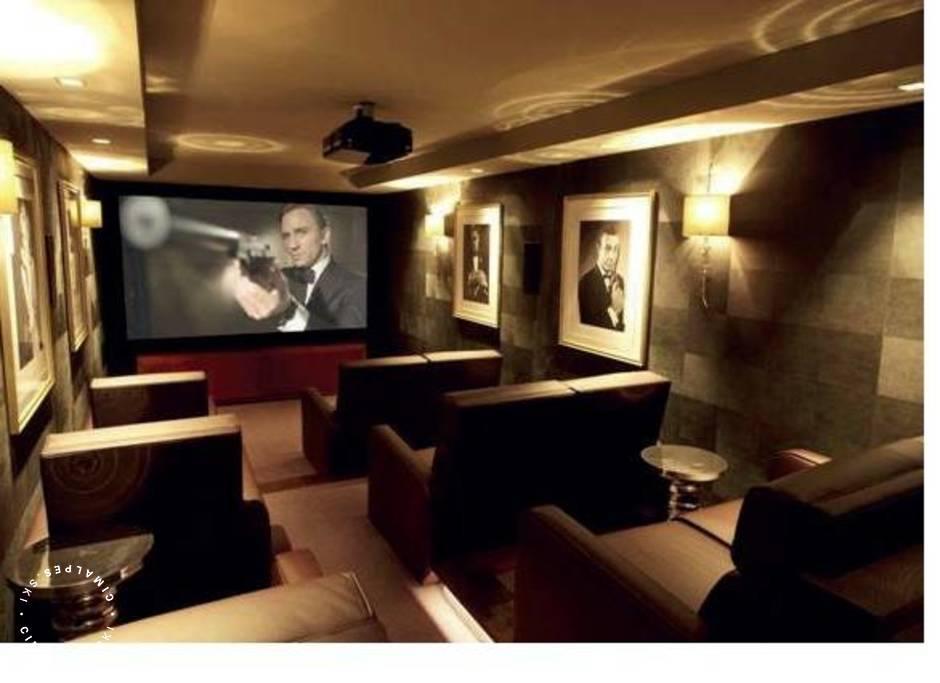 Cinema area - Ourson Chalet - Courchevel 1650