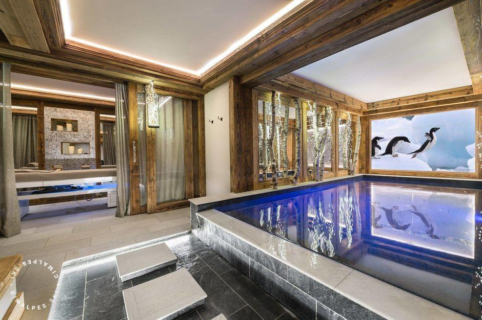 Piscine - White Chalet - Courchevel Le Praz