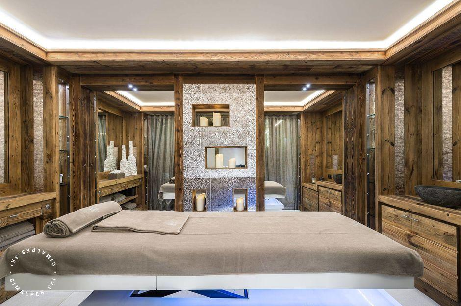 Salle de massage - White Chalet - Courchevel Le Praz