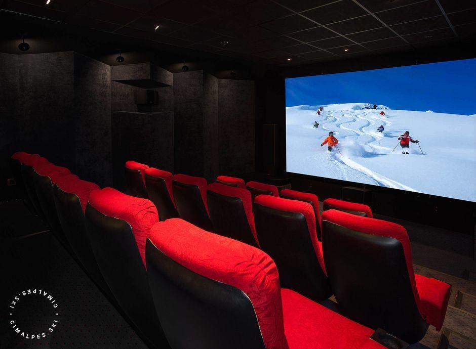 Cinema, Chalet Tyrosolios, Meribel