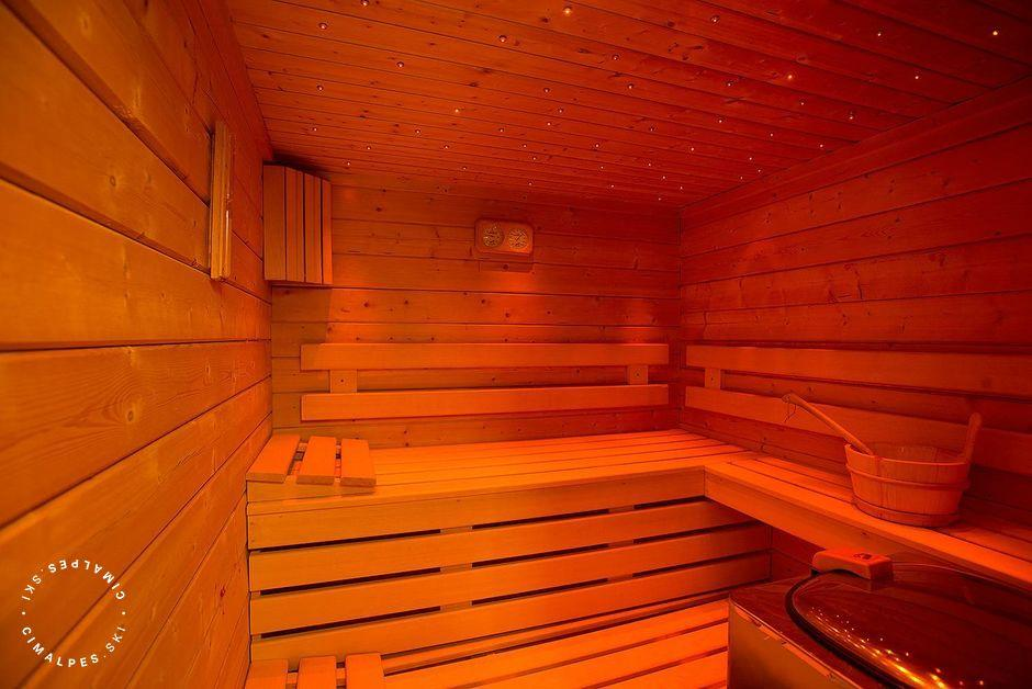 Sauna, Chalet Tyrosolios, Meribel