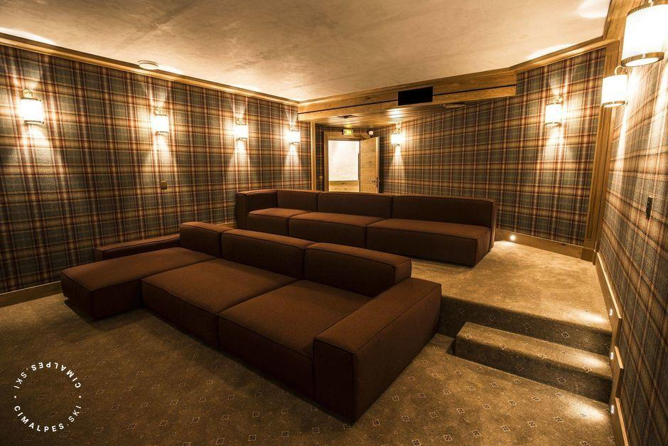 Chalet Chene - Val d'Isere - Home cinema