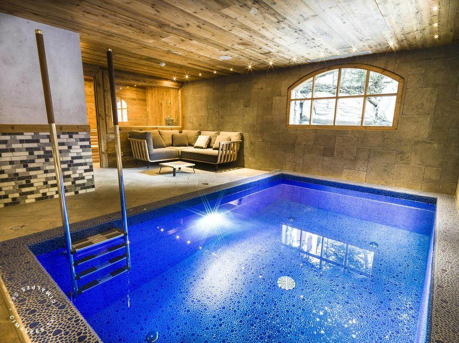 Chalet Sequoia - Val d'Isere - Indoor swimming pool