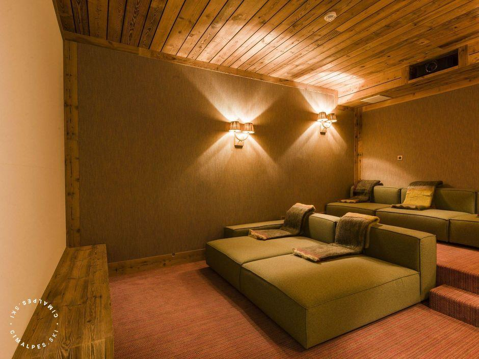 Chalet Sequoia - Val d'Isere - Home cinema