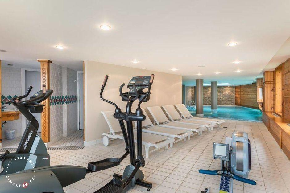 Fitness Area - Martin des Neiges - Courchevel 1850