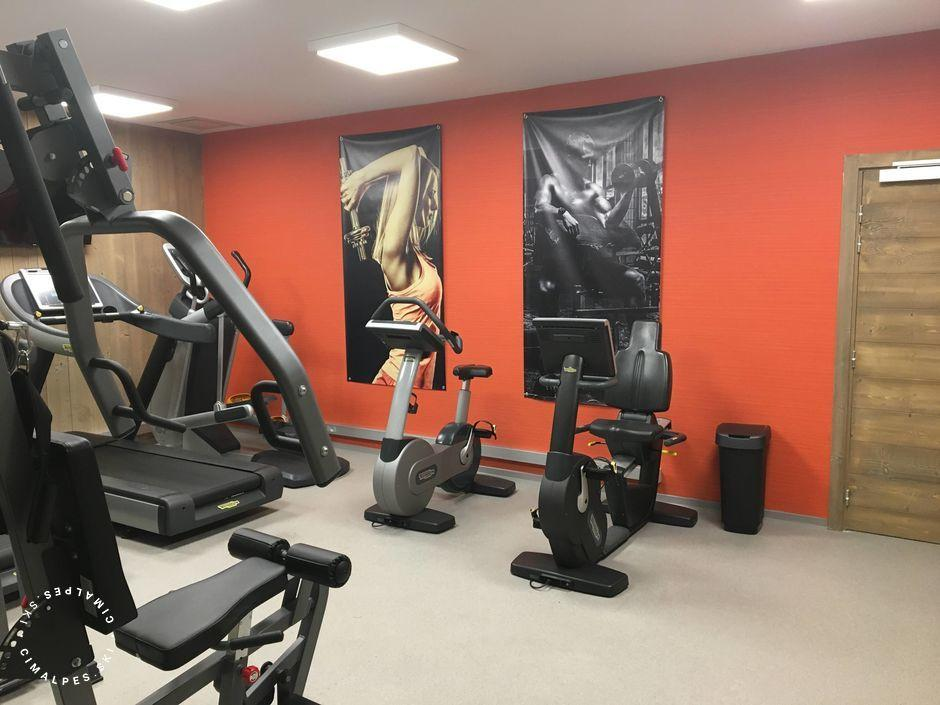 Résidence Carré Blanc - Salle de Fitness - Courchevel 1550