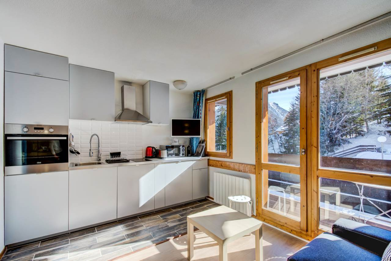 APPARTEMENT DANS RESIDENCE SKIS AUX PIEDS