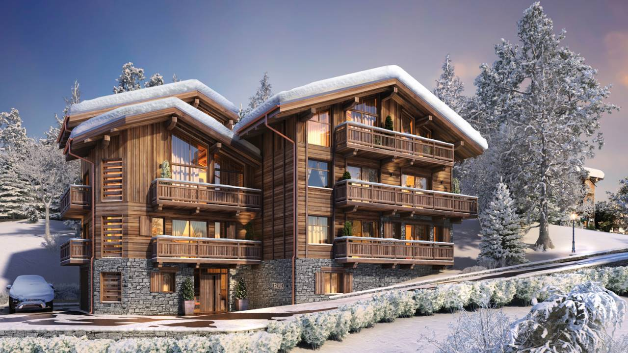 NEW REAL ESTATE PROJECT LES CHALETS DE LA STELVIO